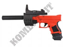 P698A Airsoft BB Gun Black and Orange